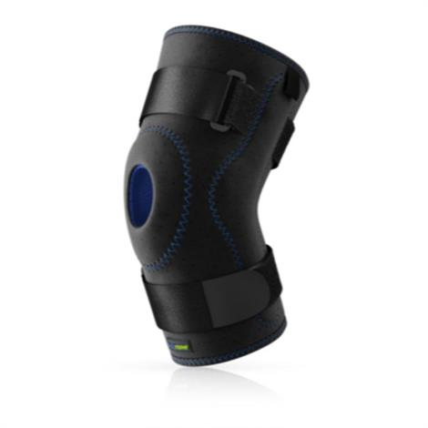 """Actimove Hinged Stabilizing Knee Brace,Black,Large,18"""" to 20"""",Each,7568753"""