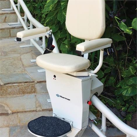 Harmar Helix Curved Stair Lift,0,Each,CSL500