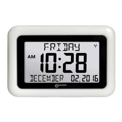 Geemarc Viso 10 Large Display Clock,Viso 10 Large Display Clock,Each,VISO10