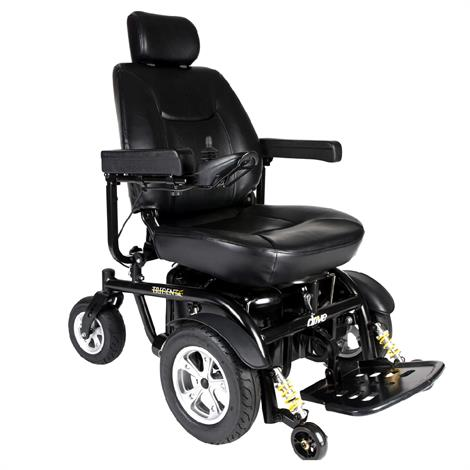 """Drive Trident HD Heavy-Duty Power Chair,With 22"""" Captain Seat,Each,2850HD-22"""