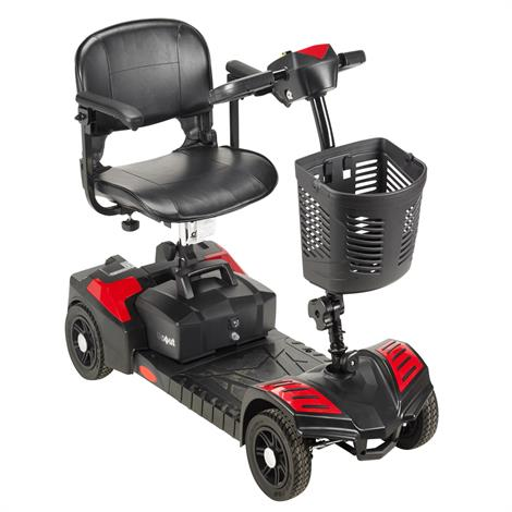 """Drive Spitfire Scout Four Wheel Travel Power Scooter,12AH Battery,16.5"""" Folding Seat,Each,SFSCOUT4"""