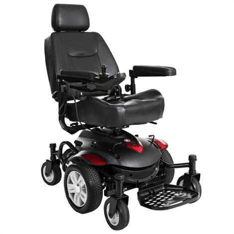 "Drive Titan AXS Mid-Wheel Drive Powerchair,22"" x 20"" Captain Seat,Each,TITANAXS-22CS"