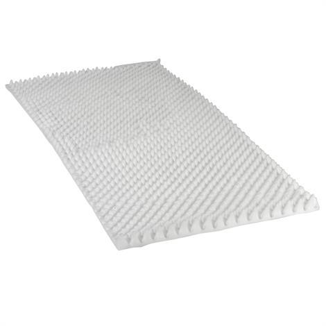 """Drive Convoluted Foam Bed Pad,33""""W X 74""""L X 4""""H,6/Pack,M6026"""