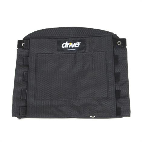 """Drive Adjustable Tension Wheelchair Back Cushion,Fits 16"""" to 21"""" Wide Wheelchairs,16"""" High,Each,14300"""