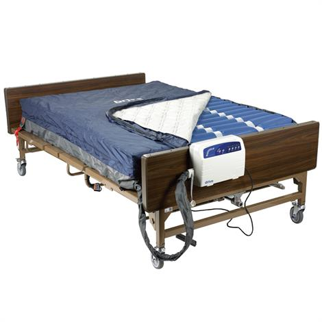 """Drive Med-Aire Plus Bariatric Alternating Pressure Pump and Mattress Replacement System,80""""L x 54""""W x 10""""H,Each,14054"""