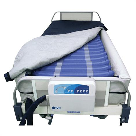 "Drive Med-Aire Plus Alternating Pressure and Low Air Loss Mattress System with Defined Perimeter,36""W x 80""L x 10""H,Each,14029DP"