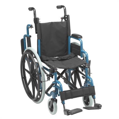 Drive Medical Wallaby Pediatric Folding Wheelchair,0,Each,0