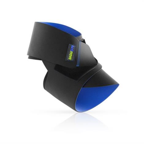 """Actimove Sports Universal Ankle Support,Black,20 - 27 cm 8""""-101/2,Each,75620-10"""
