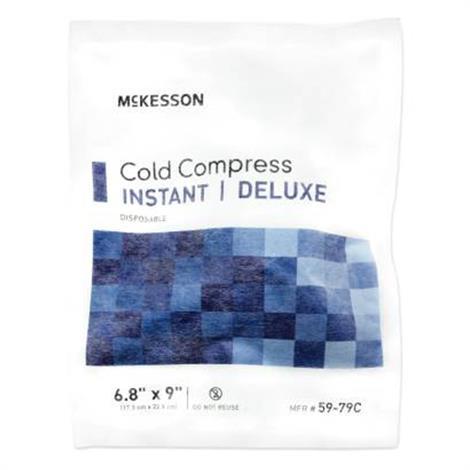 """Mckesson Deluxe General Purpose Instant Cold Pack,6.8"""" x 9"""" (17.3cm x 22.9cm),24/Case,59-79C"""