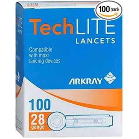 Arkray TechLite Lancet,TechLite Lancet,28G,100/Pack,880128