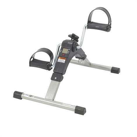 Drive Folding Exercise Peddler With Electronic Display,Silver Finish,Each,RTL10273