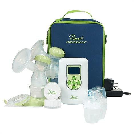 Drive Pure Expressions Dual Channel Electric Breast Pump,Double Electric Plus Breast Pump,Each,RTLBP2000