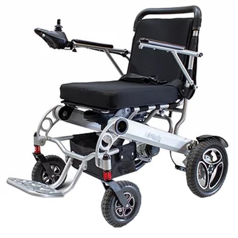 EWheels EW-M43 Folding Power Wheelchair,Silver,Each,EW-M43