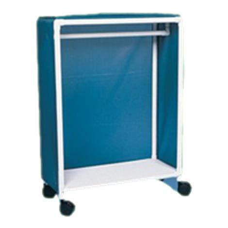 """Duralife Garment Shelf Cart,60""""H x 64""""W x 20""""D,Each,654"""