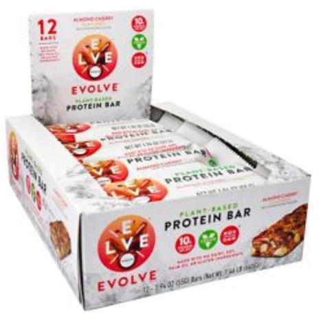 Cytosport Bars Evolve Bar,Peanut Butter and Jelly,12/Pack,501670