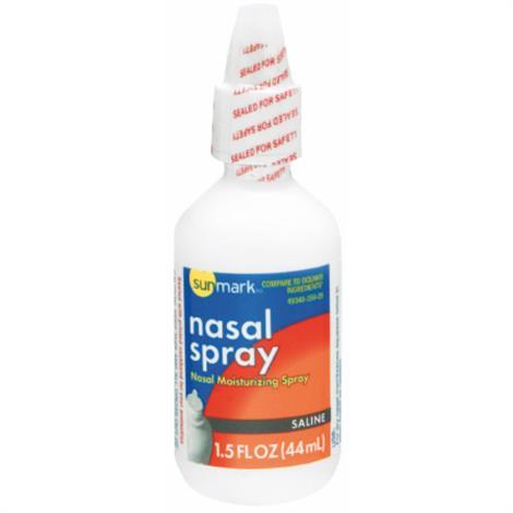 McKesson Sunmark Saline Nasal Spray,3oz Spray Bottle,Each,1850080