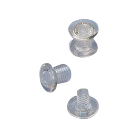 "Nylon 6.4mm Screws and Posts For Hinged Splints,Nylon,Shaft Length 1/4"" (6.4mm),100/Pack,NC12731"