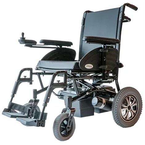EWheels EW-M47 Heavy-Duty Folding Power Wheelchair,Black,Each,EW-M47