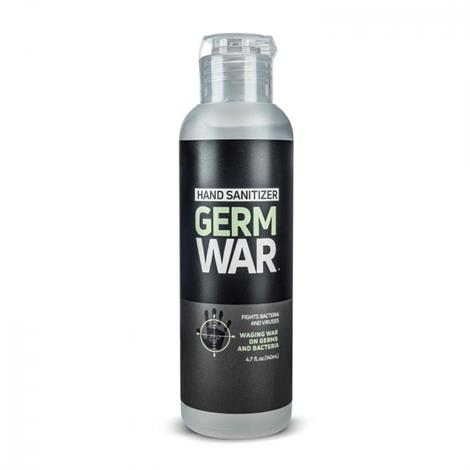 Germ War Hand Sanitizer,4.7oz (140ml) Flip Cap,50/Case,GW203AG01