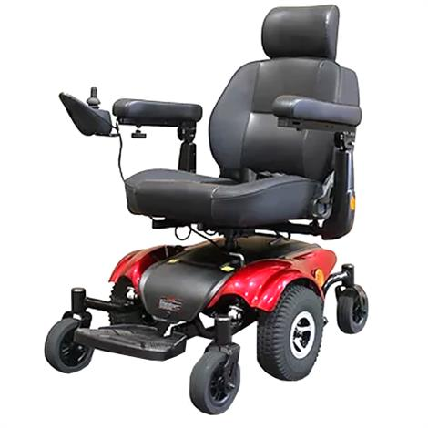 EWheels EW-M48 Power Wheelchair,Red,Each,EW-M48