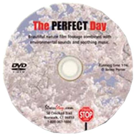 Stress Stop The Perfect Day Dvd,60 Minutes Dvd,Each,Rx15