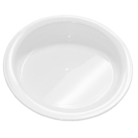 "Hi-Lo White Plate,9"" in Diameter,Each,#847102001869"