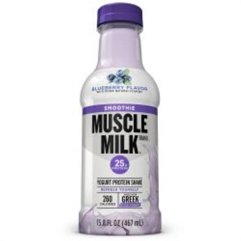 Cytosport Muscle Milk Smoothie Shake,Blueberry,12/Pack,501532