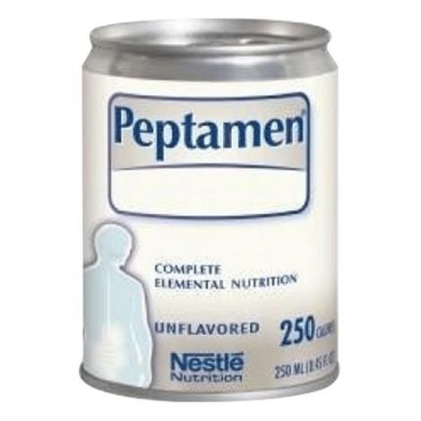 Nestle Peptamen Complete Peptide-Based ,Unflavored,250ml Can,24/Case,9871616269
