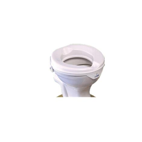 "Gordon Ellis Super Prima Raised Toilet Seat Without Lid,15""L x 15.75""W x 2""H,Each,60912"