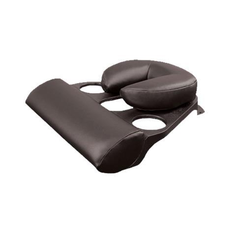 Oakworks Prone Pillow,TT Coal,Black,Each,3P