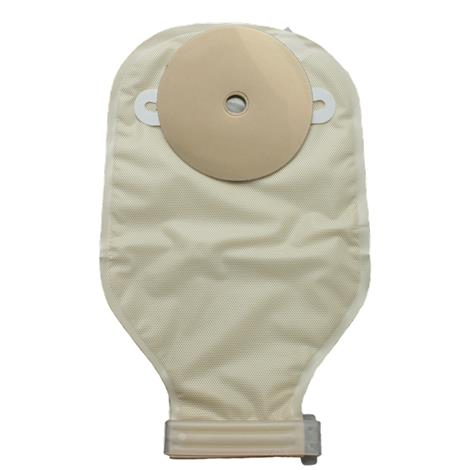"Image of Nu-Hope Nu-Flex Standard Post-Operative Adult Drainable Pouch,Opening: 1/2"" (1.3cm),Foam Pad: 3-1/2"" (8.9cm),10/Pack,7204"