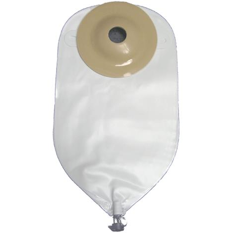 "Image of Nu-Hope Deep Convex Standard Round Post-Operative Adult Urinary Pouch,Opening 7/8"" (2.2cm),10/Pack,8257-DC"