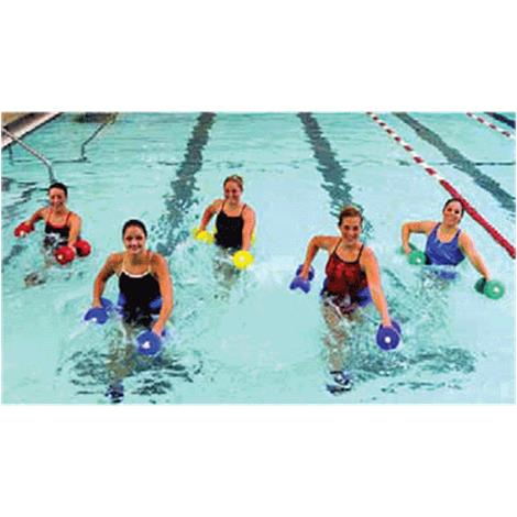 CanDo Aquatic Exercise Kit,Deluxe Kit,Large,Blue,Each,#20-4202B