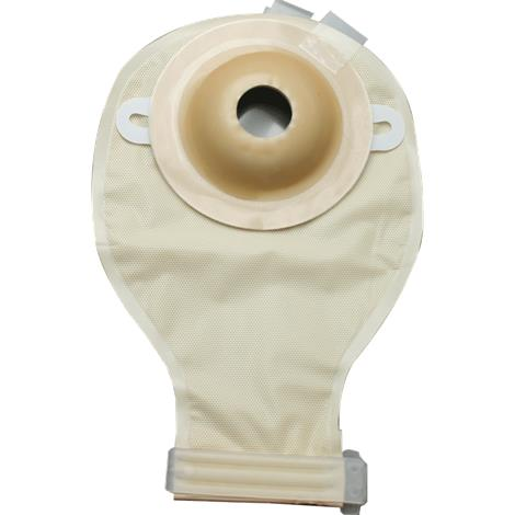 "Image of Nu-Hope Deep Convex Round Post-Operative Brief Drainable Pouch,Opening 1-3/8"" (3.5cm),10/Pack,7111-DC"