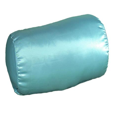 Mabis DMI Cervical Contour Pillow,Blue Satin,Each,554-8024-1000