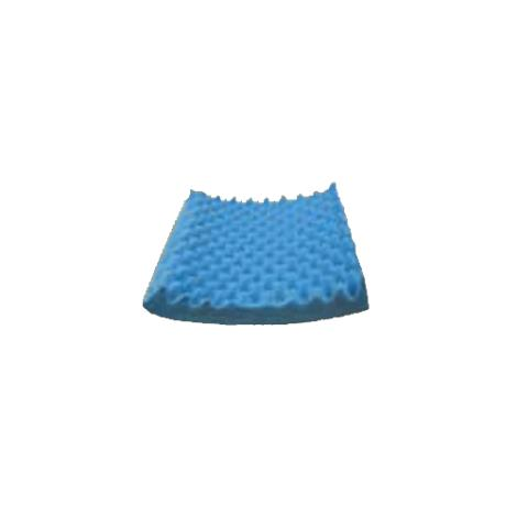 Joerns Healthcare BioClinic Eggcrate Convoluted Wheelchair Cushion,Without Back,18/Case,4217-CC