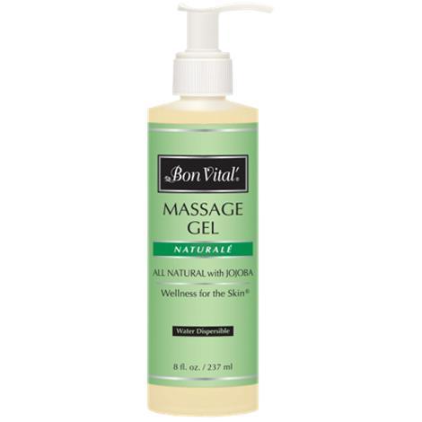 Bon Vital Naturale Massage Gel,1/2 Gallon Bottle,Each,BVNATGHG