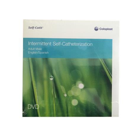 Coloplast Self Cath Intermittent Self Catheterization DVD,Adult Male,Each,M3071N