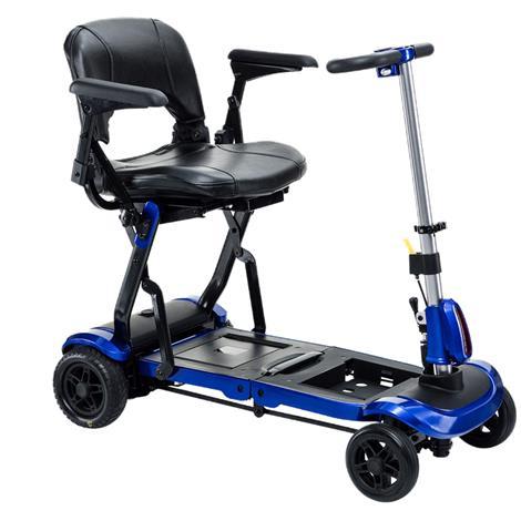 "Drive ZooMe Flex Folding Travel Scooter,Electric Blue,37""L x 18""W x 36""H,Each,FLEX"