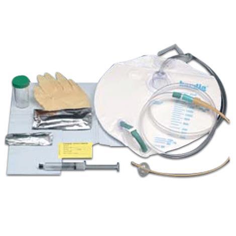 Bard Bardia Closed System Foley Tray,With 16FR Catheter,10/Case,802016
