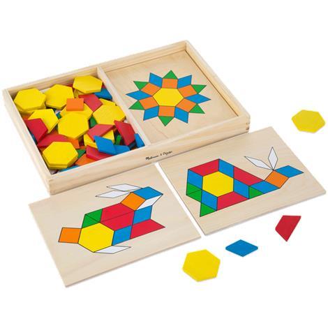 Melissa & Doug Pattern Blocks and Boards,1.7 x 8.5 x 13.1,Each,29