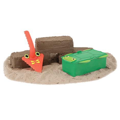 Melissa & Doug Seaside Sidekicks Brick Building Sand Toy,4 x 7.25 x 4,Each,6398