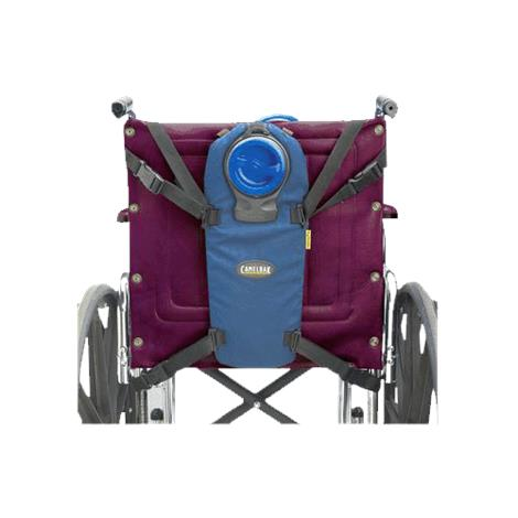 """CamelBak Drink Holder for Wheelchair,1/8"""" x 18"""" x 24"""",1% Perforated,Beige,4/Pack,A911023C4"""