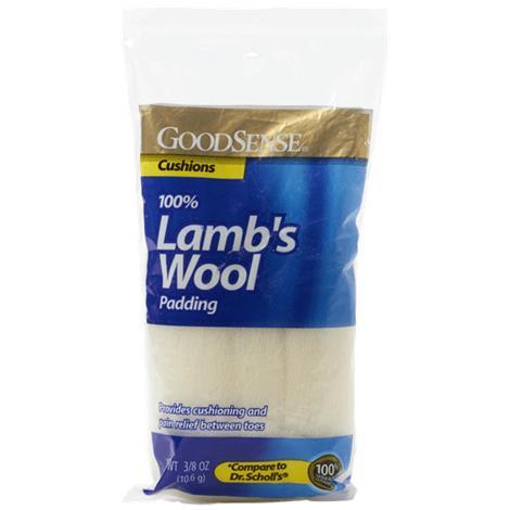 GoodSense Lambs Wool Padding,3.8oz,Each,DAF00002
