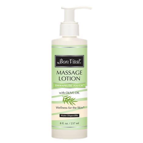 Bon Vital Therapeutic Touch Massage Lotion,1/2 Gallon Bottle,Each,BVTTLHG