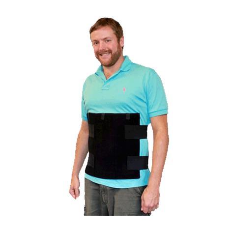 Polar Kool Max Body Cooling Torso Vest with Cooling Packs,Black,Each,KMVT