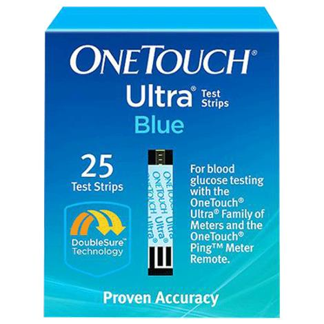 Lifescan OneTouch Ultra Test Strips,Test Strips,100/Pack,20245