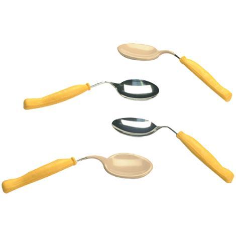 Plastisol-Coated Child Bent Spoon,Plastisol-Coated,Left,Each,146401
