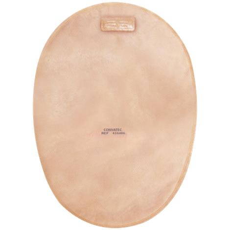 ConvaTec Natura Plus Two-Piece Closed-End Pouch With Two Sided Comfort Panel,70mm (2-3/4) Flange,With Filter,30/Pack,416412