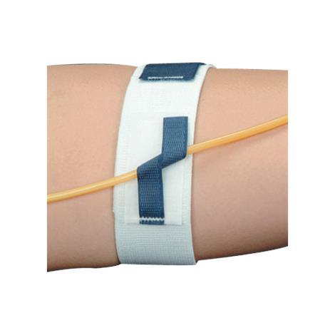DeRoyal Universal Catheter Strap,22L x 2W,Universal,36/Pack,M1133